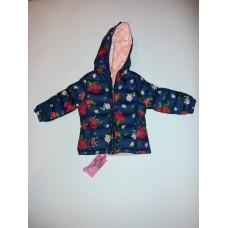 Детско яке за момичета на розички.